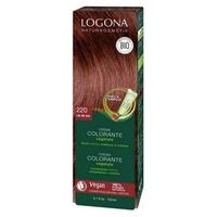 Creme de coloração de cabelo cor de vinho