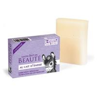 Jabón con leche de burra y lavanda Bio