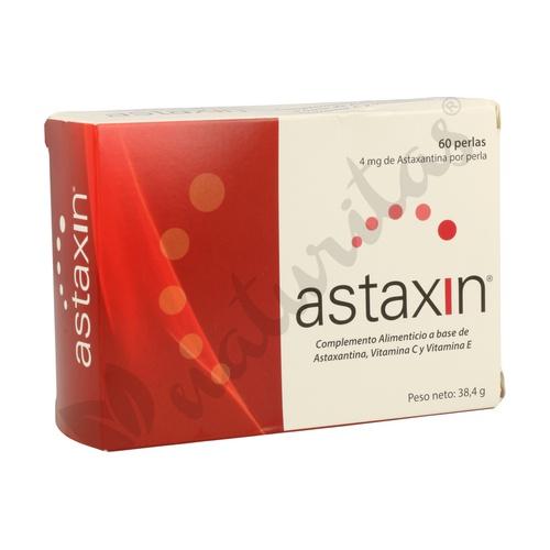 Astaxin 60 cápsulas de 4 mg de Vbyotics