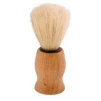 Escova de barbear de madeira