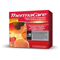 Therapeutic thermal patches for neck, shoulders and wrists