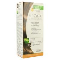 Crema Colorante Efficolor Castaño Claro (Nº05)