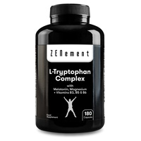 L-Tryptophan-Komplex mit Melatonin, Magnesium + Vitaminen B3, B5 und B6