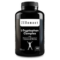 L-Triptófano Complex con Melatonina, Magnesio + Vitaminas B3, B5 y B6
