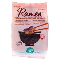 Glutenfreie Buchweizen- und Shiitake-Ramen-Nudeln