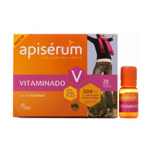 Apiserum vitaminado 20 viales de Apiserum