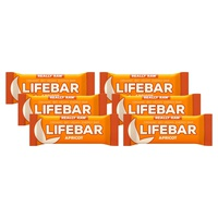 Pack Lifebar (Sabor Albaricoque)