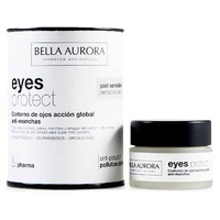 Os olhos protegem a ação do contorno dos olhos Global Pharma