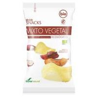Chips di patate miste di verdure biologiche