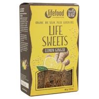 Rolls de lino con limón y jengibre bio