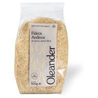 Fideos andinos de arroz y quinoa real