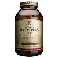 """Vitamina B-Complex """"100"""" Vegetal de Potência Extra Alta"""
