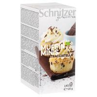 Mini muffins stracciatella sin gluten