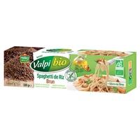 Bio-Spaghetti mit braunem Reis