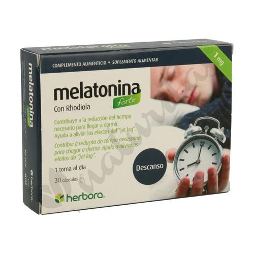 Melatonina Forte con Rhodiola