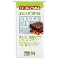 Chocolate Negro Caramelizado al Punto de Sal Bio