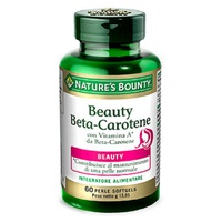 Beauty beta carotene