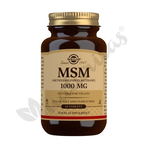 MSM (Metilsulfonilmetano)