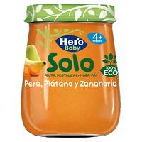Hero Baby Solo Pera, Plátano y Zanahoria Eco