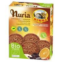 Nuria Chocolate y naranja caramelizada