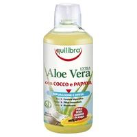 Jugo de Aloe Vera con Coco y Papaya