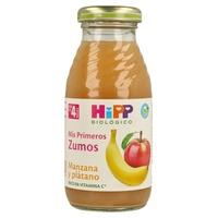 Zumo de Manzana y Plátano Bio