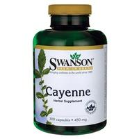 Cayena, 450 mg