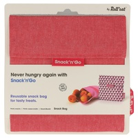 Porta Snacks Snack'n'Go Eco Rojo