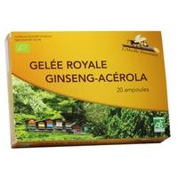 Gelée Royale - Ginseng - Acérola Bio