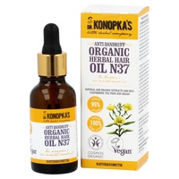 Organic Herbal Anti-Dandruff Oil For Hair No. 37