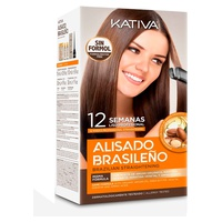 Kit de alisamento brasileiro