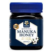 Miel de Manuka monofloral MGO 550+