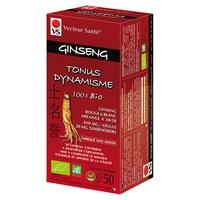 ginseng rouge & blanc bio gélules