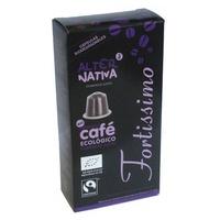 Cápsulas de Café Fortissimo BIO-FT.