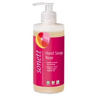 Jabón de manos rosa