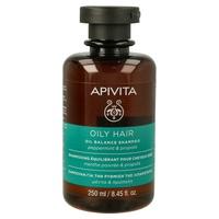 Shampoo para cabelos oleosos com hortelã e própolis