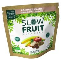 Snack fruitier (pépites moelleuses 100% fruits) pomme mangue curcuma chanvre