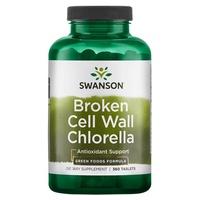 Chlorella w Broken Cell Wall