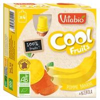 Fruta Orgánica Plátano Botella De Fruta Fresca