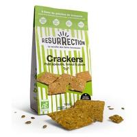 Crackers bio aux drêches de brasserie Petit Épeautre et Fenouil