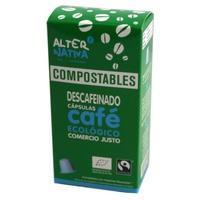Cápsulas Compostables Ecológicas de Café Descafeinado