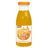 Zumo de Naranja, Mango y Fruta de la pasión Bio