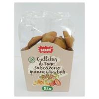 Galletas de Trigo Sarraceno con Quinoa y Baobab