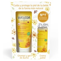 Sommerbabypackung - Shampoo und Duschgel + Windelcreme
