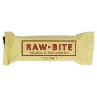 Superbarrita Vegana Raw-Bite (Sabor Coco) 1 barrita de 50 gr de Vitafood Raw
