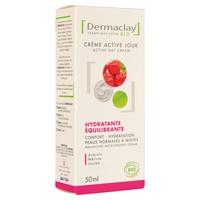 Crema activa de día hidratante y equilibrante Bio