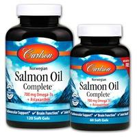 Aceite de salmón noruego