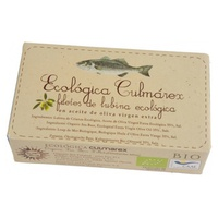 Lubina Eco en aceite de oliva Lata