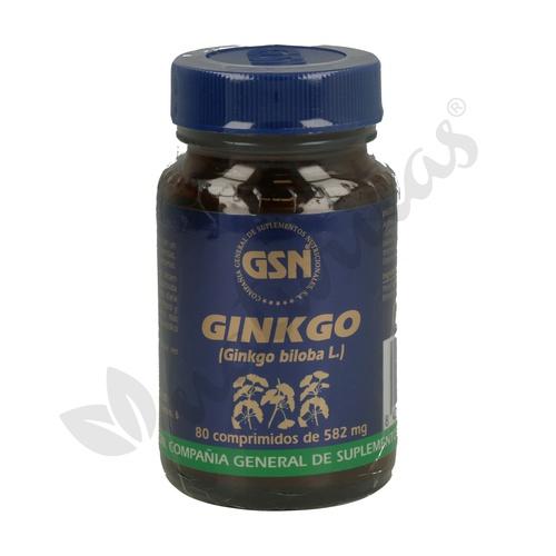 Ginkgo Biloba 80 comprimidos/2850 mg de Gsn