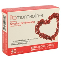 Fitomonakolin-k (Levadura de Arroz Rojo)